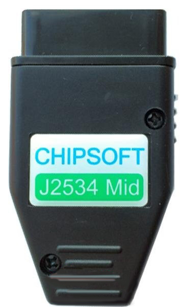 Фото Chipsoft J2534 Mid. OBD2 сканер - motorstate.com.ua