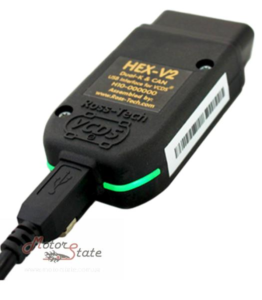 Фото VCDS HEX-NET Enthusiast WiFi (Android + IOS) + USB - (10 VIN номеров авто). Оригинальный USA автосканер - motorstate.com.ua