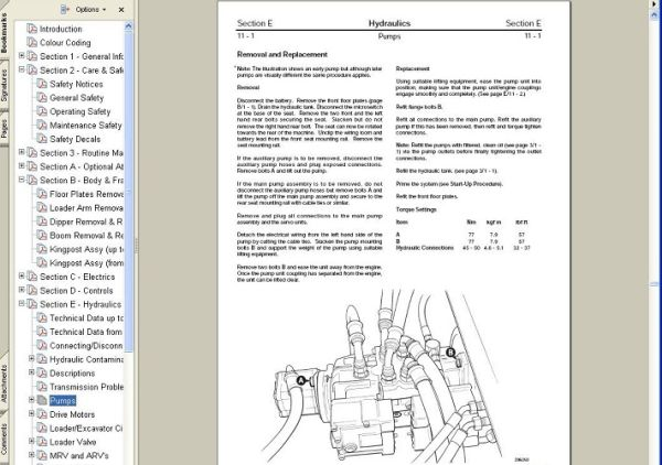 Фото Услуга по установке программы JCB Service Manual - motorstate.com.ua
