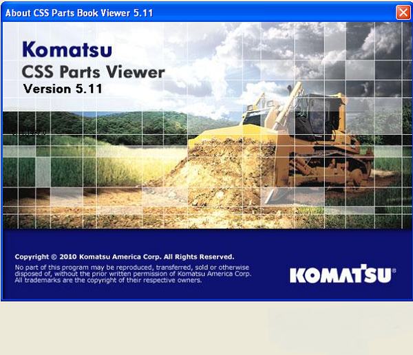 Фото Услуга по установке программы Komatsu Europe CSS Parts Viewer - motorstate.com.ua