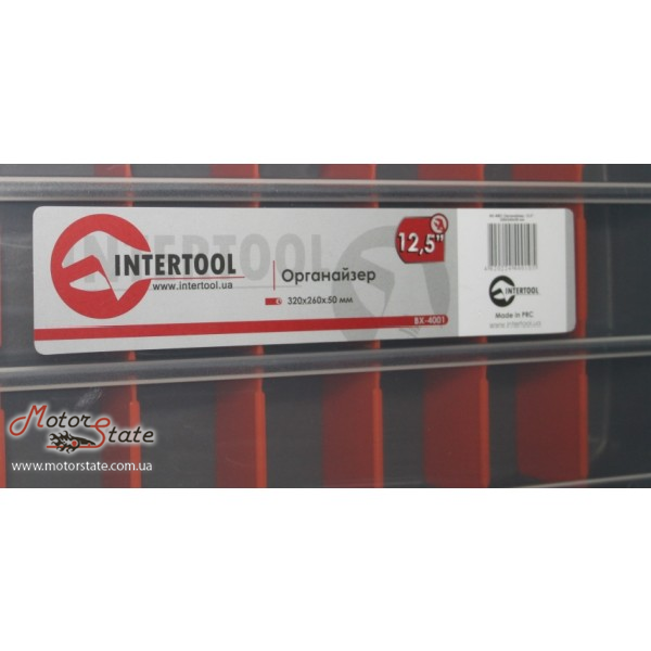 Фото Ящик органайзер Intertool BX–4001 - motorstate.com.ua