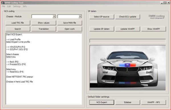 BMW SPDATEN V67.0 utilizzati in NCSExper, Ediabas, INPA