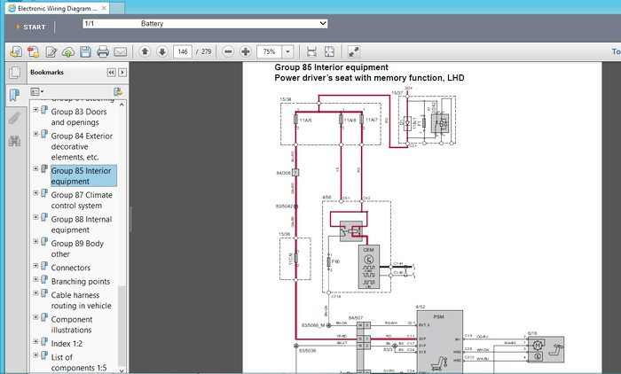 wiring diagram Virtual PC VOLVO Vida 2014D VOLVO EWD 2014D workshop manual | Volvo Electronic Wiring Diagram Ewd |  | Pepa Bonett